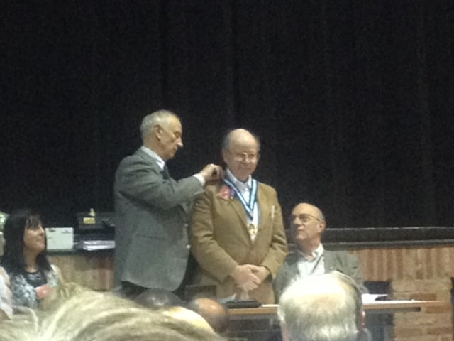 Rotary District Governor handover