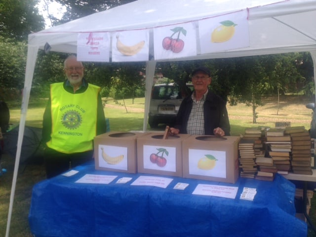 RC Kennington raise funds at Lambeth Palace Garden Party 2014