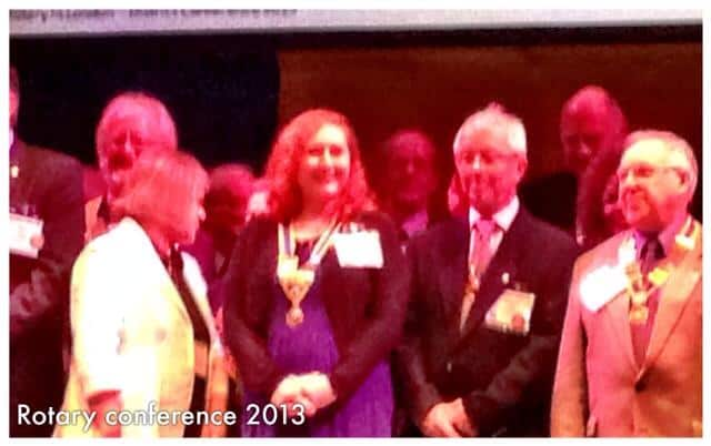 Eastbourne Rotary Club Conference (October 2013)